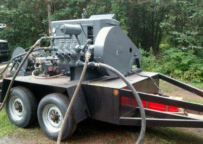 Hydrofracturing Machine Wells Wisconsin